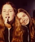 Louise and I circa 1979