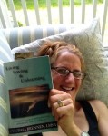 """Summertime Summertime on the porch reading Cindy's great new book."" ~Louise"